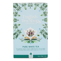 English Tea Shop Organic White Tea Teabags 20pc
