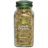 Simply Organic Rosemary Leaves LARGE GLASS 35g