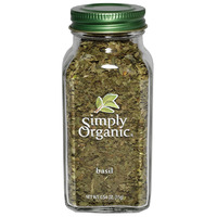 Simply Organic Basil LARGE GLASS 15g