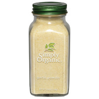 Simply Organic Garlic Powder LARGE GLASS 103g