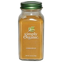 Simply Organic Ground Cinnamon LARGE GLASS 69g