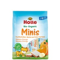Holle Organic Mini Bars Banana Orange 100g