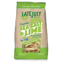 Late July Organic Multigrain Tortilla Chips Sea Salt & Lime 312g