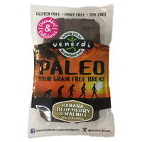 Venerdi Paleo Fruit Bread Banana, Blueberry & Walnut 510g