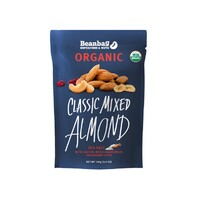 Beanbag Organic Cashew Nuts - Almond Cranberry Banana & Sea Salt 100g