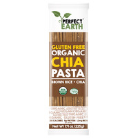 Perfect Earth Organic Rice & Chia Pasta - Brown 225g