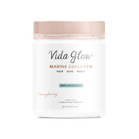 Vida Glow Natural Marine Collagen - Original 90g (Loose Powder)