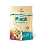 13 Seeds Hemp and Green Tea Muesli 450g