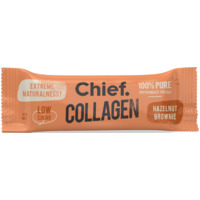 Chief Collagen Protein Bar - Hazelnut Brownie 45g