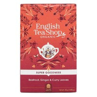 English Tea Shop Organic Beetroot, Ginger & Curry Leaves 20pc