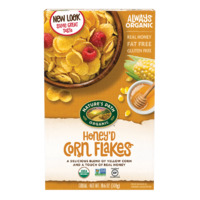 Nature`s Path Organic Honey`d Corn Flakes 300g