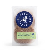 Gluten Freedom Hemp and Rosemary Buns 265g