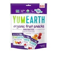 Yummy Earth Organic Vegan Fruit Snack Packs 99g