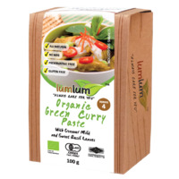 Lum Lum Organic Green Curry Paste 100g