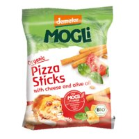 Mogli Organic Pizza Sticks with Cheese and Olive Oil 75g
