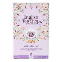 English Tea Shop Organic Wellness Youthful Me Teabags 20pc