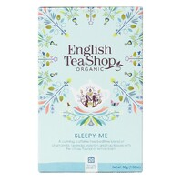 English Tea Shop Organic Wellness Sleepy Me Teabags 20pc