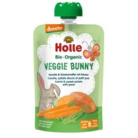 Holle Organic Pouch Carrot & Sweet Potato with Peas 90g