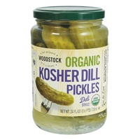 Woodstock Organic Kosher Dill Pickles Whole 710ml