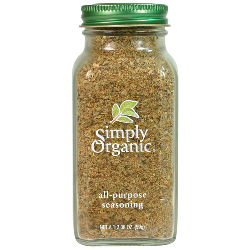 Simply Organic All-Purpose Seasoning LARGE GLASS 59g