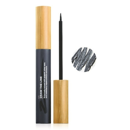 The Organic Skin Co - Liquid Eyeliner - Draw The Line Black