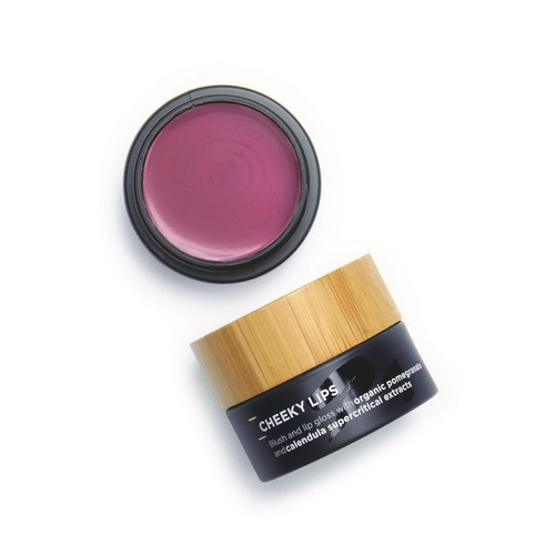 The Organic Skin Co - Cheek & Lip Blush Pot -  Cheeky Lips Velvet