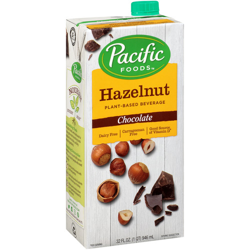 Pacific Foods Natural Hazelnut-Chocolate Drink 946ml NEW CONFIGURATION