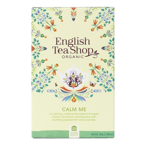 English Tea Shop Organic Wellness Tea Calm Me 20pc
